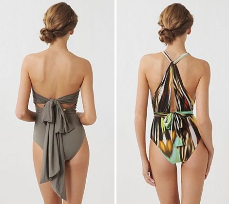 Anthropologie:  LOVE these swimsuits!