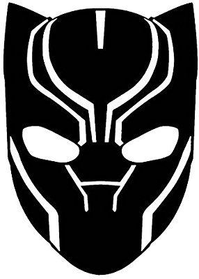 Amazon Com Marvel Comics Avengers Black Panther Head
