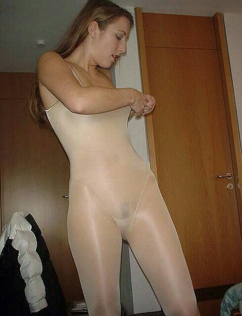What that shiny pantyhose bodystocking