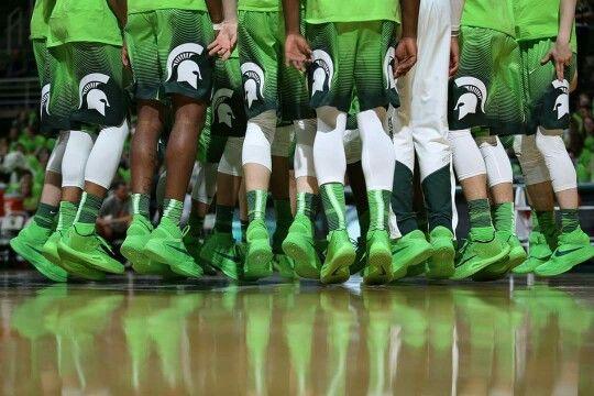 MSU Spartan Basketball team