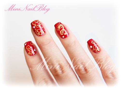 Nail Art Design Chinese New Year Hireability