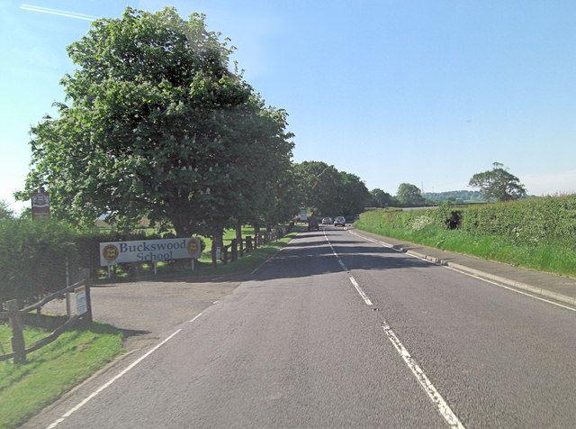 A259 passes Buckswood School