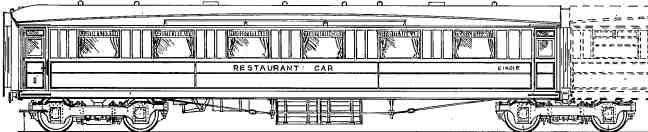 Gresley triple restaurant set