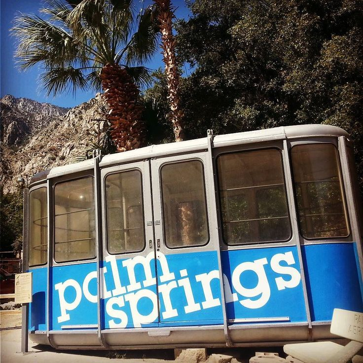 Old-school tram cars at the #palmspringsaerialtramway. The current version holds 80 people and the floor rotates for stellar 360 degree views! #SanJacintoStatePark (at the top) is stunning. @palmspringsoasis #findyouroasis #discoverpalmsprings #familyfuntravel #familytravel #visitcalifornia