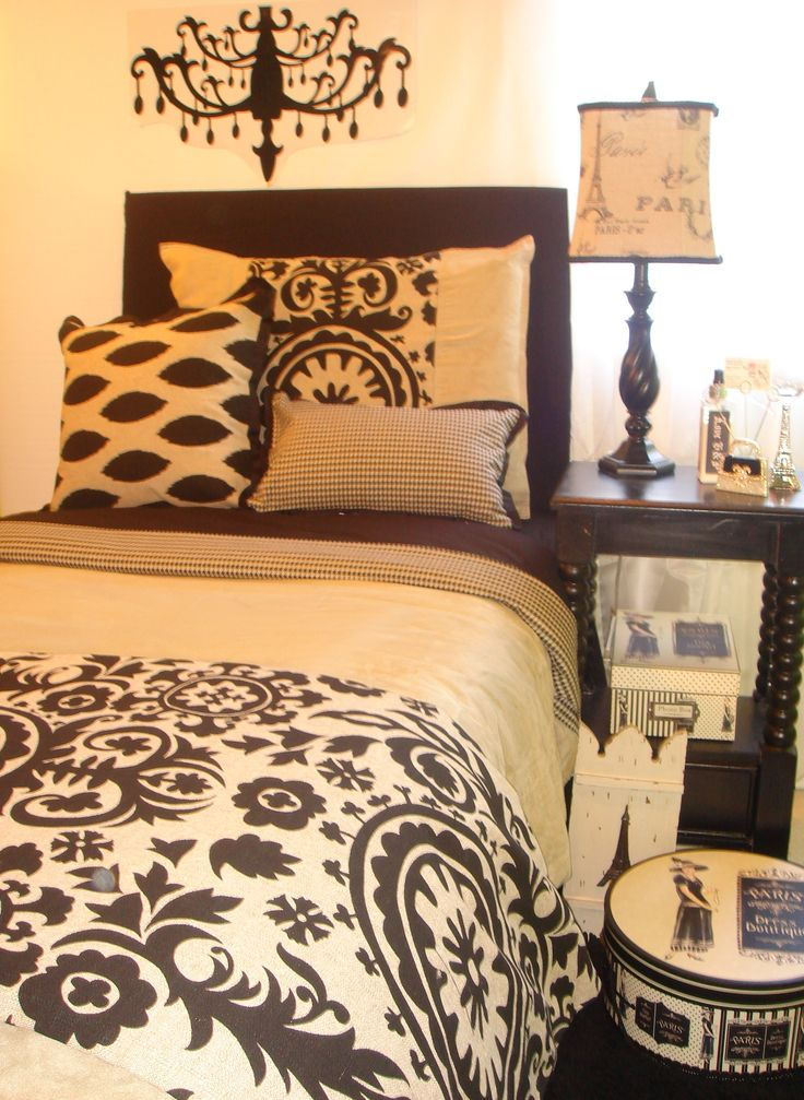 Bedroom Ideas Damask 98 best dorm room design images on pinterest | college life, dorm