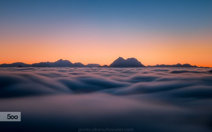 Sea of Clouds in Motion by Christoph Oberschneider on 500px