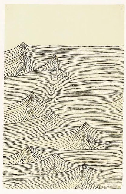 accordion file: louise bourgeois - insomnia drawings