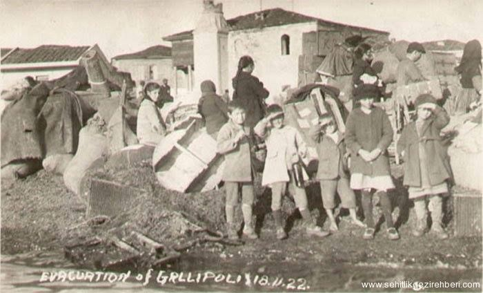 The evacuation of Gallipoli, 18-11-1922