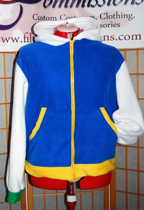 Pokemon Ash Ketchum Hoodie by FilthyCommissions on Etsy, $70.00