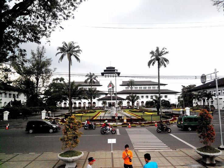 Gedung Sate, Bandung, Indonesia