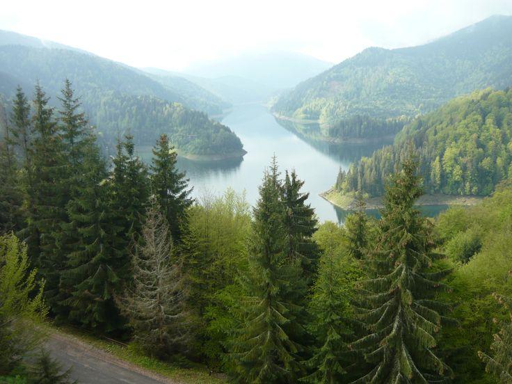 Kilátás a Dragan tóra