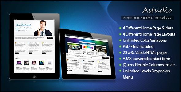 Astudio Premium xHTML Template