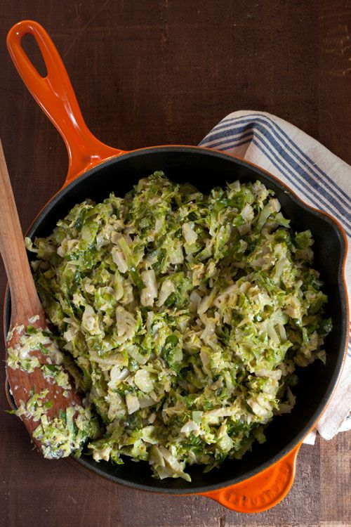 Creamed Brussels Sprouts | SAVEUR