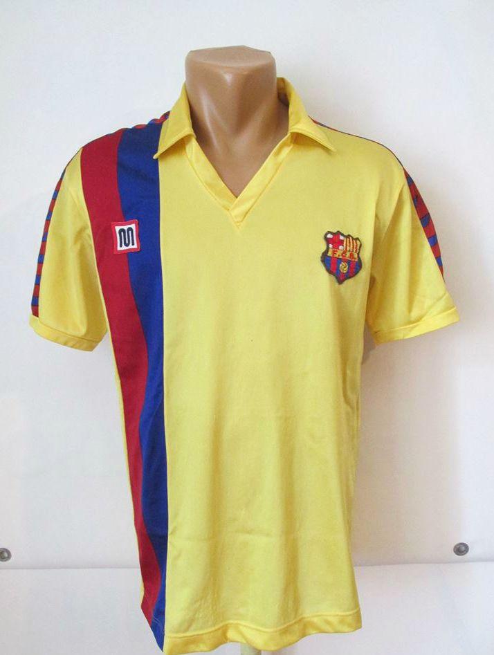 barcelona 1984 1985 1986 1989 away footballshirt by meyba forsale  fcbarcelona fcb fcbarca barca 80s 80sfootball vintage spain football soccer  soccerteam ... 8188532871d38