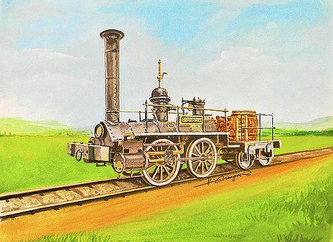 Stephensonsrocket by Johannes Margreiter