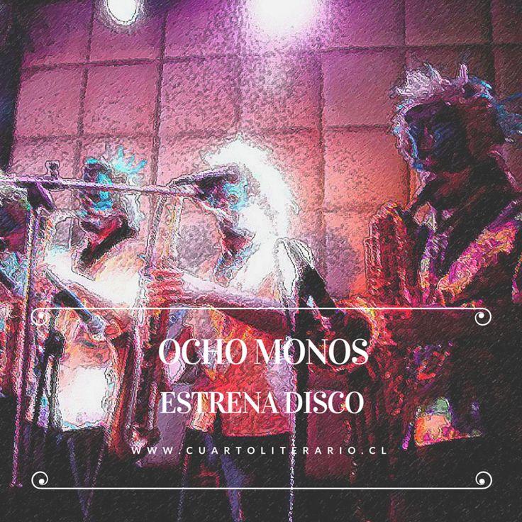 Ocho monos presenta su disco con dos shows.