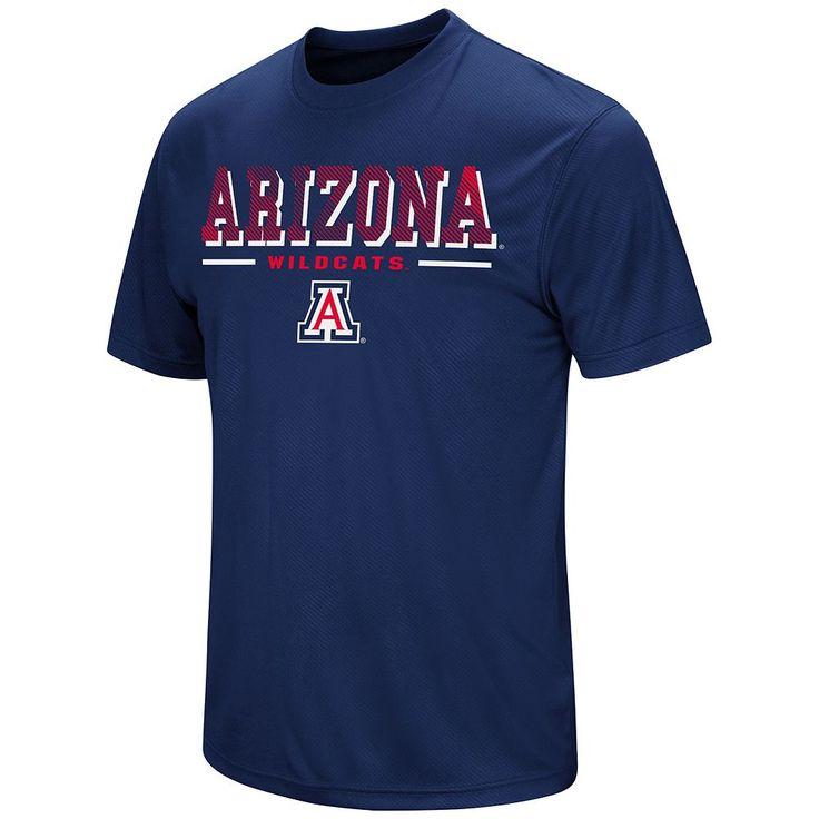 Men's Colosseum Arizona Wildcats Embossed Tee, Size: Medium, Blue (Navy)