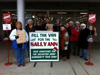 Royal LePage Kelowna: Fill The Van For Sally Ann 2012 A Huge Success