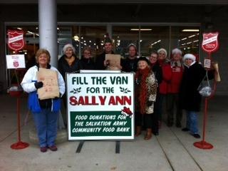 Royal LePage Kelowna: Fill The Van For Sally Ann 2012 A Huge Success