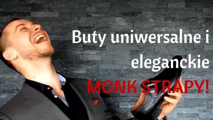 Obuwie uniwersalne i elegenckie  - monk strapy