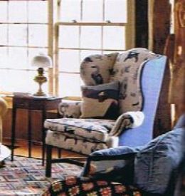 Furniture Upholstery Mix and Match Fabric an article about how you can change your furniture on the cheap.