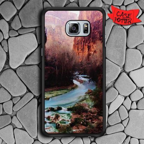 Havasu Canyon Creek Samsung Galaxy S6 Edge Plus Black Case