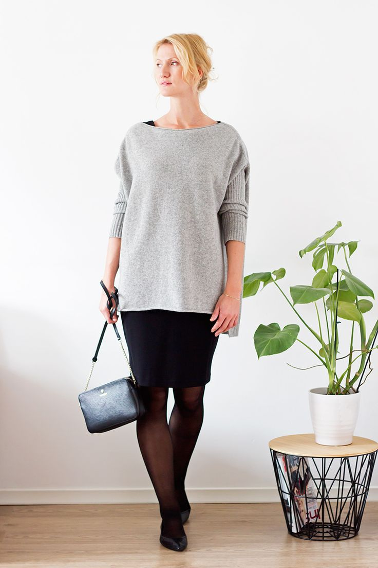Slow fashion challenge. 10 outfits out of 10 pieces of clothes. #fall #capsulewardrobe