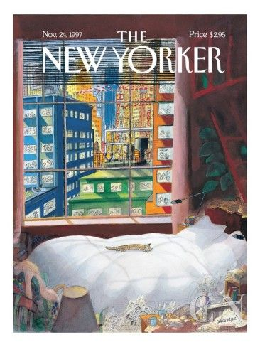The New Yorker Cover - November 24, 1997 Poster Print by Jean-Jacques Sempé at the Condé Nast Collection