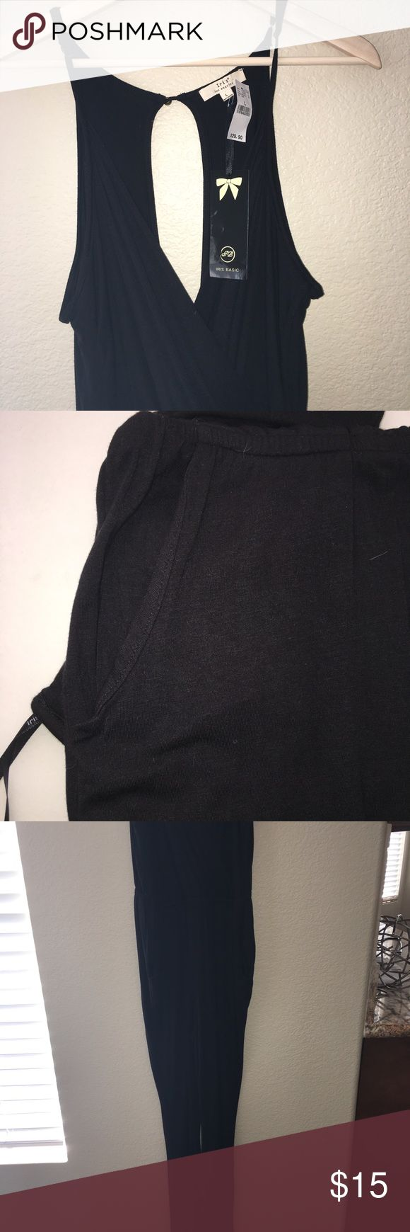 Black Pant Romper Brand new with tags! Wet Seal Other