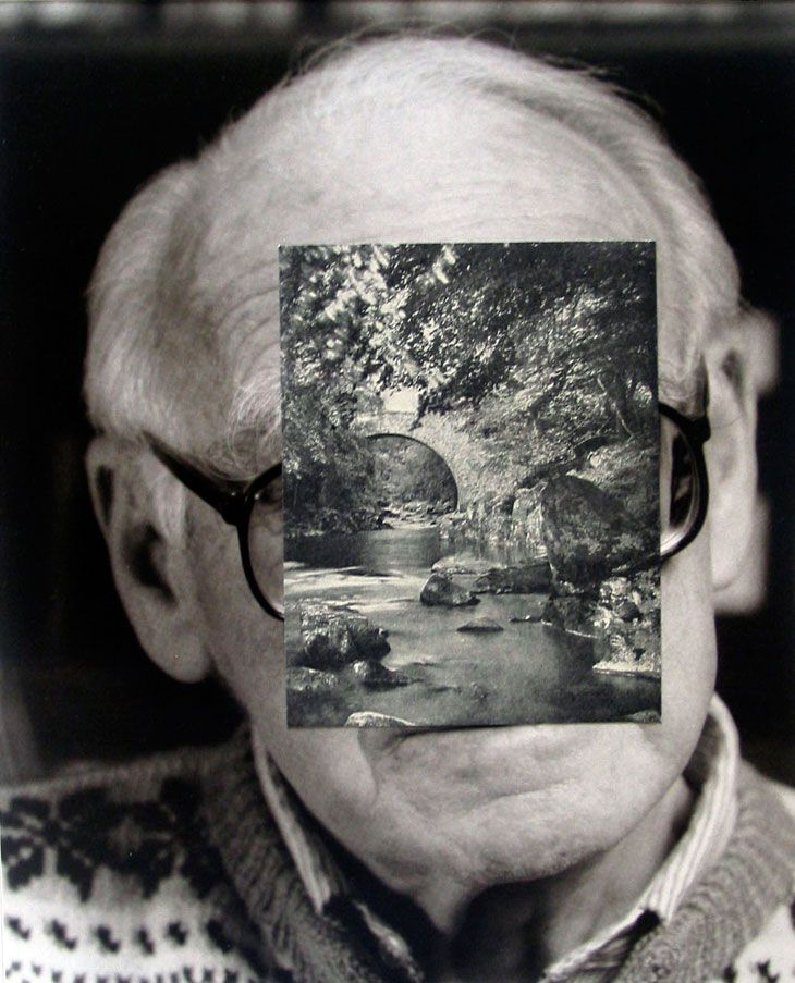 old mask viii - john stezaker, 2006 [collage; link to john stezaker at the saatchi gallery online]