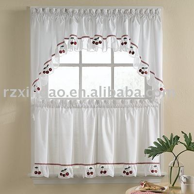 812 best cortinas cenefas y cornisas images on pinterest for Cortinas para cocina