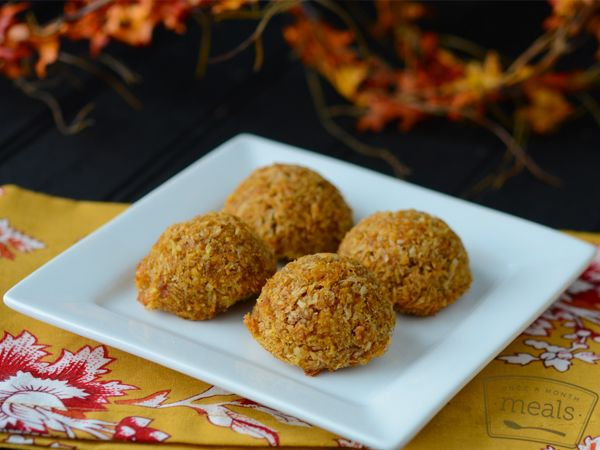 AIP Pumpkin Bites| Once A Month Meals | OAMC | Freezer Cooking | Freezer Meals | AIP Holiday Mini Menu