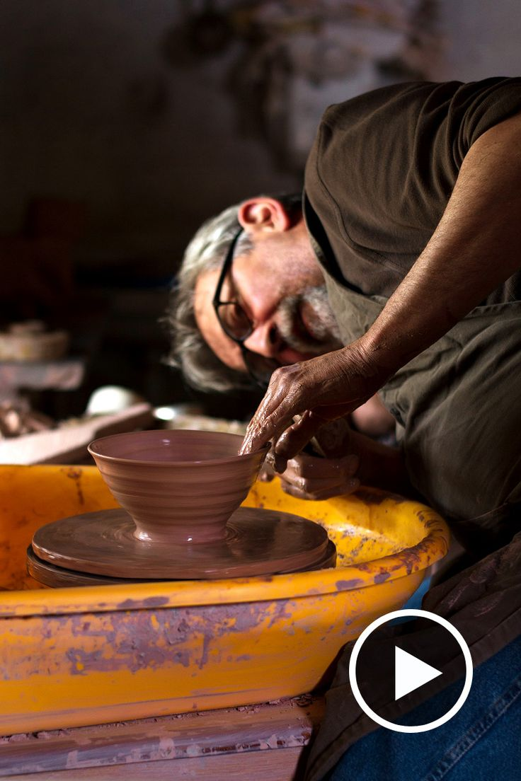 Filmed back in 2014, this documentary follows the life of one of Britain's veteran potters, Phil Rogers. Find out more about his work here.