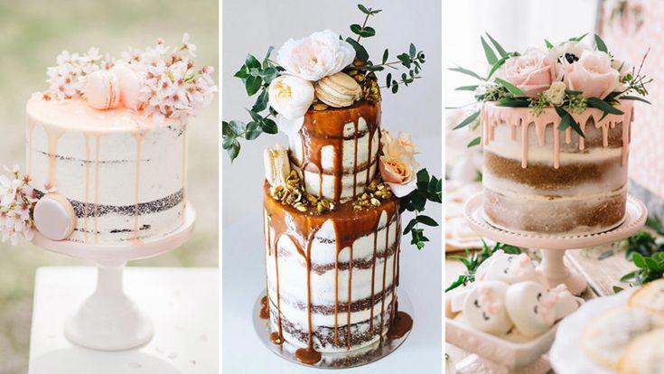 11 trendiga drip cakes & bröllopstårtor
