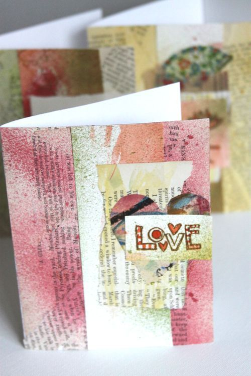 Stamped Love Cards Tutorial :: by Shona Cole - Gallery