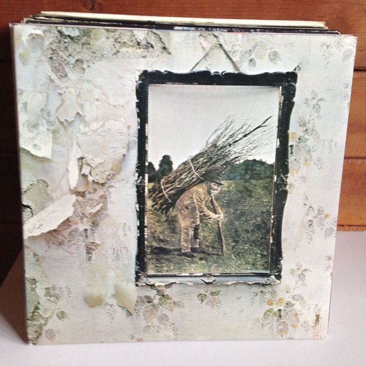 LED ZEPPELIN Zoso untitled LP US pressing EX/EX in gatefold +inner / No Barcode #BluesRockHardRock