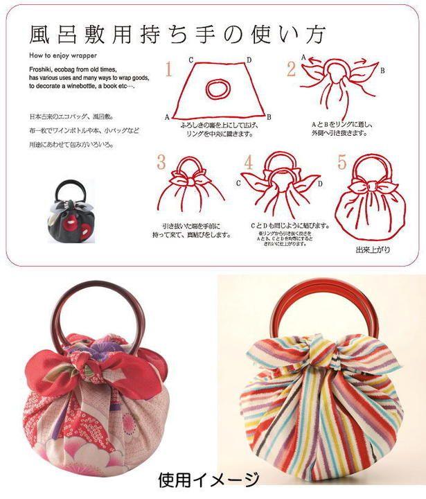 Kyo-no-megumi   Rakuten Global Market: Furoshiki bag hand made ring Japan [Cool Japan]
