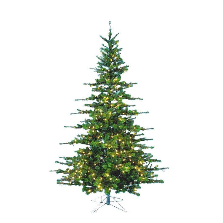 Kurt Adler 9-Foot Pre-Lit Peppermint Pine (Green) Tree (9-Foot Pre-Lit Peppermint Pine Tree)