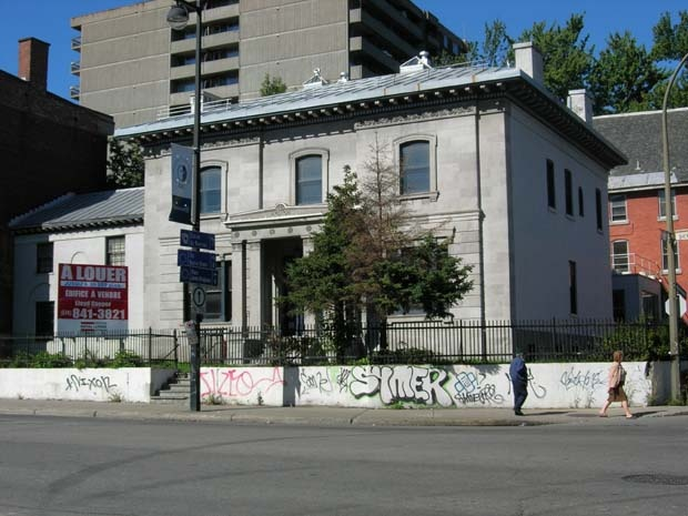 """Notman House - """"Home of the web in Montreal""""  51 Sherbrooke W., Montreal, QC  Community space for entrepreneurs!"""