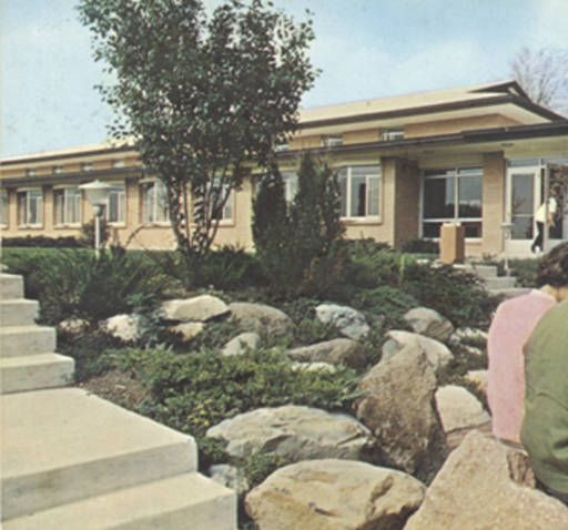 Classroom building, Rockford College, Rockford, Illinois :: Booth Library Postcard Collection (Eastern Illinois University)