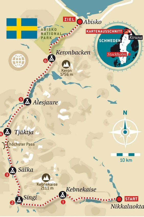 Kungsleden – Schwedens Trekking-Klassiker: