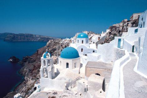 エーゲ海を巡る旅 アテネ&サントリーニ島 HIS