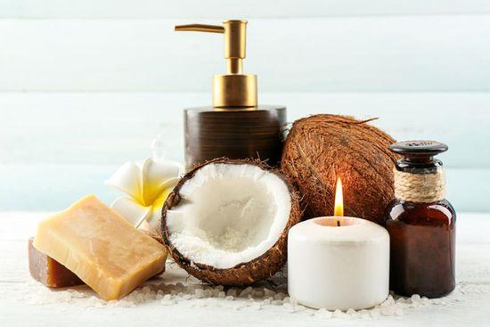 Kokosöl Shampoo zur Haarpflege