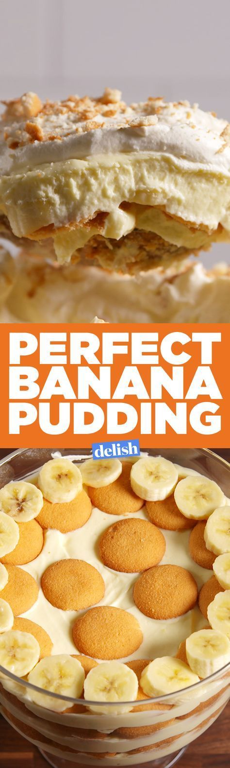 You'll go ape sh*t over this perfect banana pudding. Get the recipe on Delish.com.