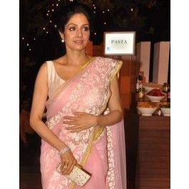 Sridevi net saree designed by manish malhotra