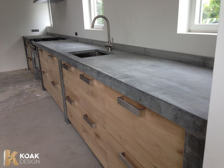25 beste idee n over rustieke loft op pinterest modern industrieel zolder design en - Keukenmeubelen rustiek ...