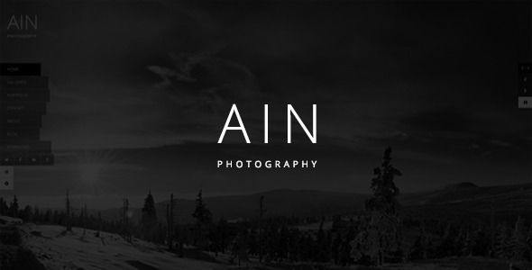 ST Ain – Gallery, Portfolio, Blog - 2 Home version  - 2 Contact Page - 2 About Page - 3 Gallery Page - 3 Portfolio Page - Responsive - Layerslider inclued - Revolution inclued  If you love my produ...