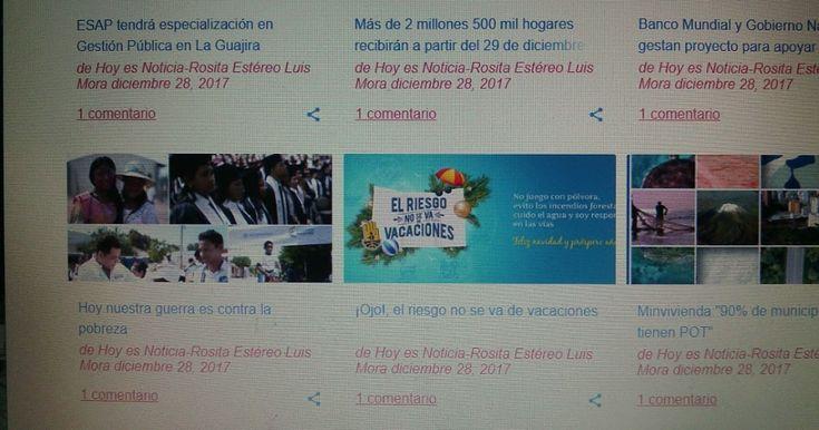 Hoy es Noticia cambia contenidos en 2018 Hoy es Noticia cambia contenidos en 2018 http://www.hoyesnoticiaenlaguajira.com/2017/12/hoy-es-noticia-cambia-de-contenidos-en.html#gpluscomments