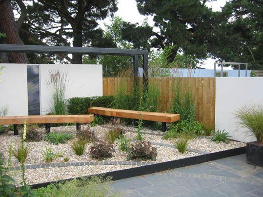 M s de 25 ideas incre bles sobre patio de grava en for Jardines pequenos con grava