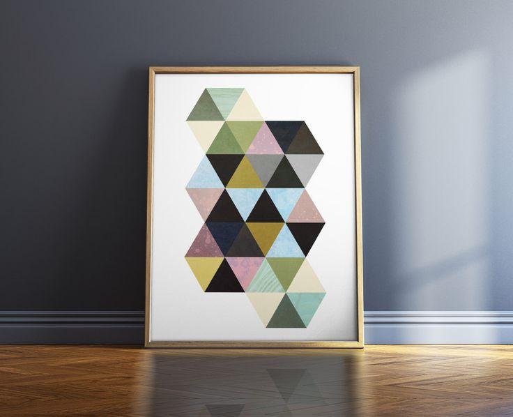 Geometric Art Print Wall Art Print Abstract Wall Art Prints Geometric Print Art Print Shop by WordKitty on Etsy https://www.etsy.com/listing/462496537/geometric-art-print-wall-art-print